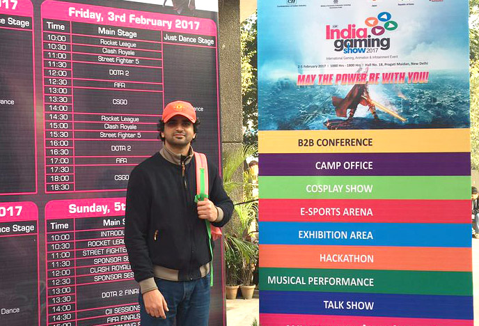 Pencillati at India Gaming Show