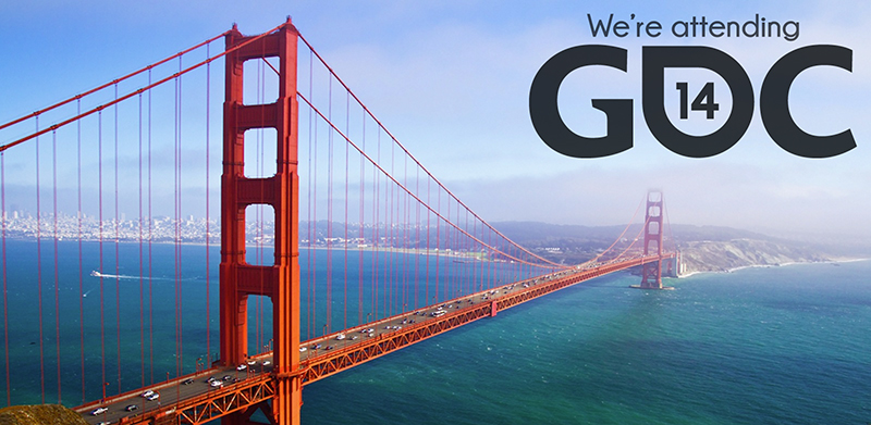We're attending GDC2014